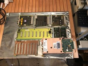 Phillips Agilent Hp Viridia M1401a Telemetry Mainframe Working Cards