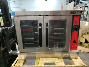 3040 Lightly Used Vulcan Full Size Ng Convection Oven W legs Model vc4gd