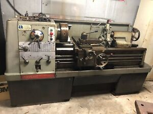 Clausing Colchester Geared Head Engine Lathe 17 x40