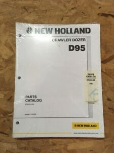 New Holland D95 Dozer Parts Catalog Manual