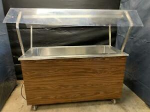 Vollrath G 48 Four Well Refrigerated Salad Bar