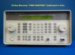 Agilent Hp Keysight 8648c W 1ea Synthesized Rf Signal Generator 9 Khz 3000 Mhz
