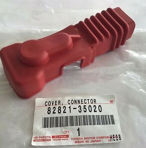 New Genuine Oem Toyota Pickup Suv Positive Battery Terminal Cover 82821 35020