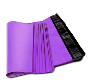 300 Bags 19x24 Purple Poly Mailer Large Plastic Shipping Bag 8 19 X 24