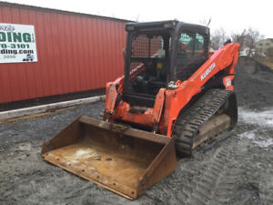 2012 Kubota Svl90 Compact Track Skid Steer Loader W Cab High Flow Coming Soon
