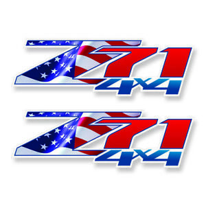 Flag Z71 4x4 F Chevy 07 13 Decal Sticker Parts For Silverado Gmc Sierra Truck