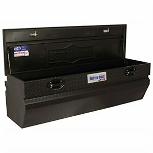 Single Lid Truck Tool Chest 56lx20wx18h Matte Black
