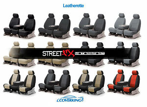 Coverking Leatherette Custom Seat Covers For Honda Civic Del Sol