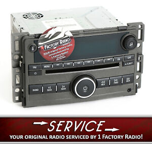 Remanufacture Service For 2006 2008 Chevy Hhr Am Fm Single Disc Cd Player Radio