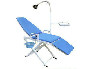 Ce Portable Folding Dental Chair Cuspidor Tray Mobile Equipment Lyc9601 2