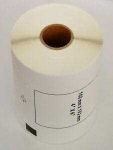 Compatible Brother Dk 1241 4 X 6 Inch White Paper Shipping Label No Cartridge