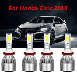 Car Parts Accessories Led Headlight Bulbs For Honda Civic 2018 Low