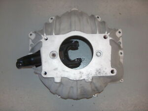 Chevy Camaro 10 Muncie Saginaw 4 Speed Trans Alum Bell Housing 3840383 W Fork