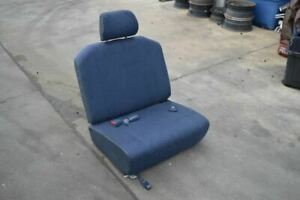 1991 1992 1993 1994 1995 1996 1997 Toyota Previa Left Rear Seat 3rd Row Blue