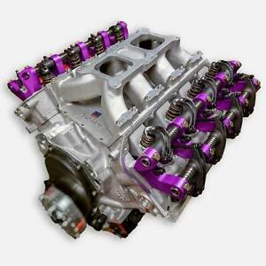572 Big Block Hemi Stroker Engine All Forged Alum Heads Block Solid Roller 700hp
