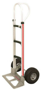 Magliner Hand Truck With Curved Frame With U nose 515 u 1060 And Pneumatic Tires