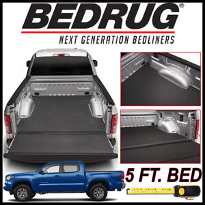 Bedrug Bedtred Impact Bed Liner Mat Fit 2005 2019 Toyota Tacoma With 5 Ft Bed