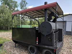 Smoker Catering Trailer