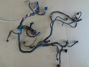 2003 2004 Mustang 4 6 Svt Cobra Engine Computer Wire Harness Sku Nn194