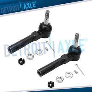 For Buick Rendezvous Chevy Malibu Alero Aztek Grand Am Relay Front Outer Tierods