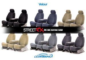 Coverking Velour Custom Seat Covers For Pontiac Fiero