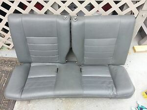 92 95 Honda Civic Oem Hatchback Rear Leather Seat Dc2 Db8 Eg6 Eg9 Em1
