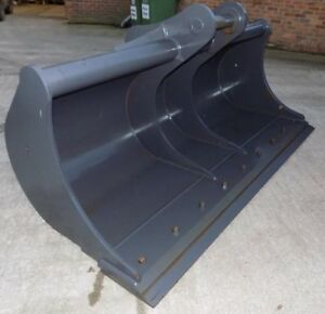Miller 96 Inch 8ft Ditching Bucket With Blade On 90 Mm Pins free Uk Delivery Inc
