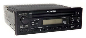 1998 2002 Honda Odyssey Accord Am Fm Radio Single Disc Cd Player 39100 s0x c010