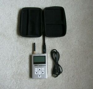 Rf Explorer Handheld Spectrum Analyzer 3g With Case And Charging Cord