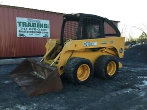 2006 John Deere 317 Skid Steer Loader Only 1700hrs