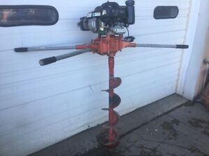 Post Hole Auger General M330h Honda Gas Powered Fence Earth Drill