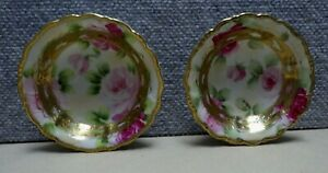 Pair Of Small Nippon Bowls