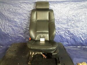 2000 2006 Bmw X5 Driver Seat Left Front Leather Black