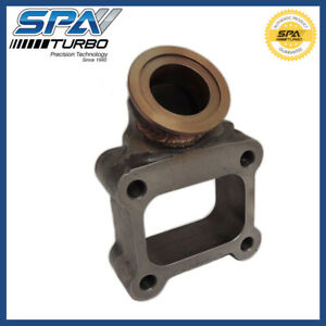 T4 Cast Iron Flange Turbo Charger Manifold Exhaust Adapter 44mm V Band Wg Port