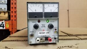 Kikusui Pad16 10l Regulated Dc Power Supply 0 16v 10a Good