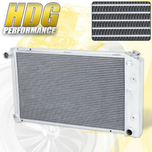 For 70 77 Chevy Monte Carlo Front Mount Full Aluminum Racing Radiator Assembly