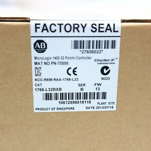 Factory Seal Allen bradley 1766 l32bxb Micrologix 1400 32point Controller Usa