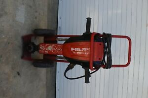 Hilti Te 3000 avr Electric Breaker Demolition Demo Jack Hammer With Cart