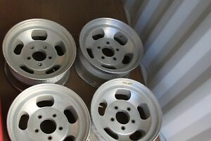 Shelby Cal 500 Ford Truck Wheels Jeep 72 54 78 Liken Nos Vintage Slotted Mags