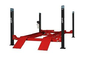 Commercial 4 Post Car Truck Lift 8 000 Pound Stacking Storage Portable Mobile