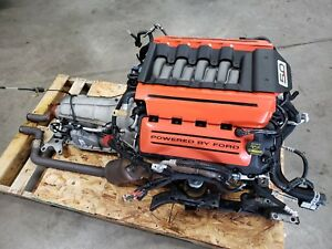 2015 Ford Mustang 5 0 Coyote Engine Drivetrain Automatic Auto Dohc Complete
