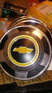 Vintage Chevrolet Truck Hubcaps Dog Dish Set Of 4 10