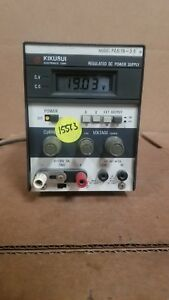 Kikusui Pab18 3a Dc Power Supply Good
