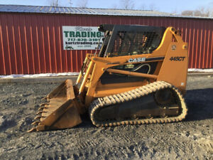 2006 Case 445ct Compact Track Skid Steer Loader W Cab No Door