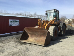 2004 Case 621d 4x4 Wheel Loader W Cab Front Coupler Municipal Machine