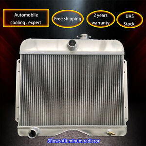 3row Aluminum Radiator For 1946 1964 Jeep Willys Station Wagon Pickup Truc