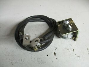 Case 40xt 60xt Skid Steer Master Disconnect Switch With Cable