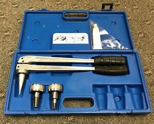 Uponor Hand Expander Tool Made By Virax With Heads And Carry Case