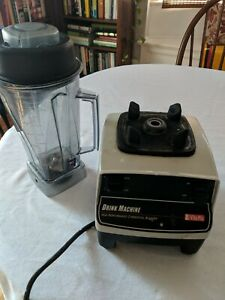 Vitamix Model Vm0100 Base And Top For Parts Only Used Broken