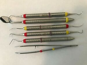6 Hu friedy Dental Instruments Scalers